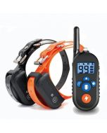 800m Electric Dog Training Collar, Dog Shock Collar w/ 3 Training Mode, Electronic Dog Shock Training Collar with Remote for Small Medium Large Dogs