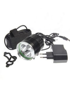 SKY RAY 3T6 Bicycle light  3xCree XM-L T6 3800 Lumens 4 Modes LED Bicycle Headlights