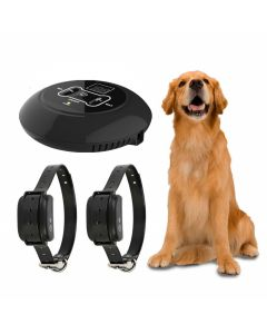 New Wireless Electronic Pet Dog Fence System and Dog Training Collar Beep Shock Vibration Training and Fence Function
