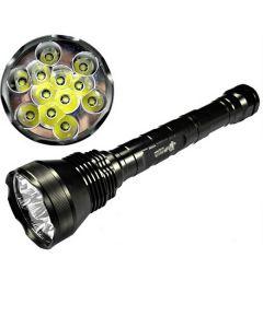 EternalFire 12T6 High Power 12*Cree XM-L T6 LED Torch 13800 Lumens 5 Modes LED Flashlight Set-Light Unit Only