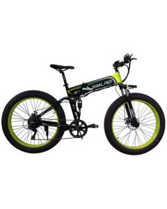 SMLRO 26 inch electric mountain bike hidden 48V lithium battery 350w electric bicycle battery power instead of walking ebike