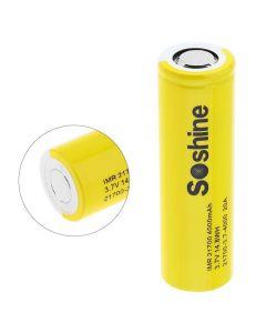 Soshine IMR 21700 battery 3.7V 14.8WH 4000mAh Li-ion Rechargeable Battery