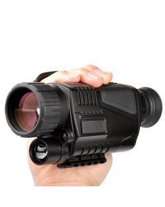 5 x 40 Infrared Night Vision Monocular Night Vision infrared Digital Scope for Hunting Telescope long range with built-in Camera