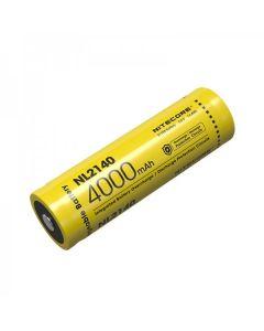 NITECORE NL2140 4000mAh 3.6V 14.4Wh 21700 Li-ion Rechargeable battery