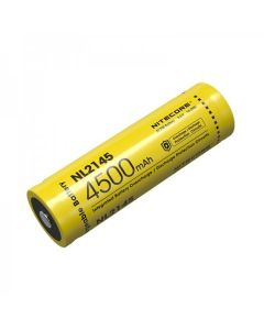 NITECORE NL2145 4500mAh 3.6V 16.2Wh 21700 Li-ion Rechargeable battery