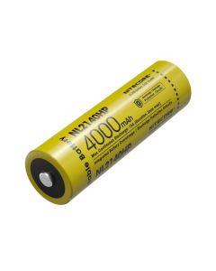 NITECORE NL2140HP 4000mAh 3.6V 14.4Wh 21700 Li-ion Rechargeable battery
