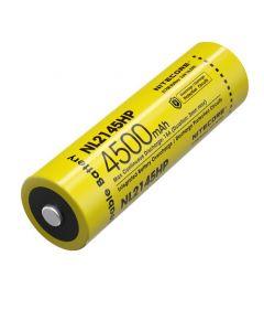 NITECORE NL2145HP 4500mAh 3.6V 16.2Wh 21700 Li-ion Rechargeable battery