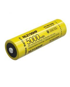 NITECORE NL2150HP 5000mAh 3.6V 18Wh 21700 Li-ion Rechargeable battery