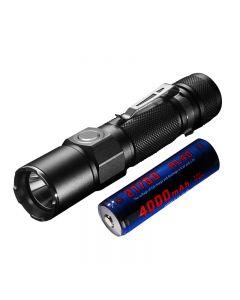 JETBEAM KO-02 EDC Cree XHP35 1800LUMENS 21700 BATTERY Usb Rechargeable Led Flashlight