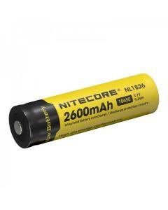 Nitecore 18650 NL1826 2600 3.7v 9.6Wh Li-ion Rechargeable Battery