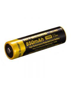 Nitecore NL1485 850mAh 14500 3.7V 3.1Wh Li-ion Rechargeable Battery
