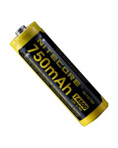 NITECORE NL1475R 750mAh14500 3.6V 2.7Wh AA Micro-USB Rechargeable Li-ion Battery