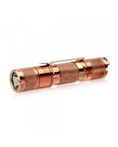 Lumintop Tool AA 2.0 Copper Cree XP-L HD LED 650 lumens AA/14500 EDC Flashlight