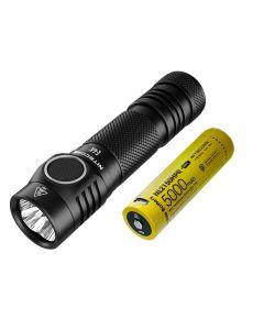 Nitecore E4K 4 x CREE XP-L2 V6 LED 4400 Lumens 21700 Battery Flashlight