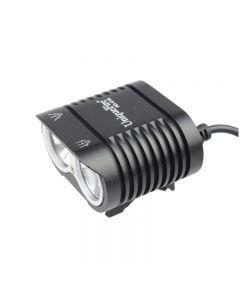 UniqueFire HD-016 2*Cree XM-L2 4 Modes 1800 Lumens LED Bike Light Bicycle Front Lights-Black