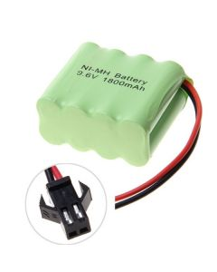 Ni-MH AA sm plug 9.6V 1800mAh Battery Pack