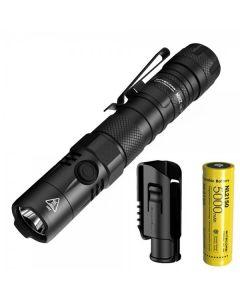 Nitecore MH12 V2 CREE XP-L2 V6 LED 1200 Lumens 21700 Battery Flashlight