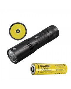 Nitecore R40 V2 CREE XP-L2 V6 LED 1200 lumens USB Rechargeable 21700 Battery Flashlight