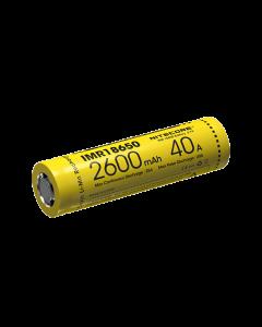 Nitecore IMR18650 2600mAh 40A Rechargeable Battery -1pc