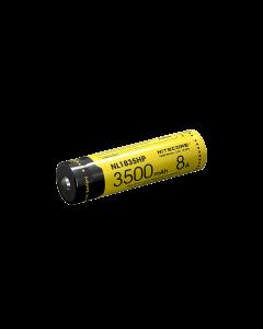 Nitecore NL1835HP 3500mAh 3.6V 12.6Wh 8A High Performance 18650 battery