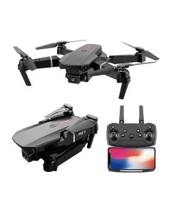 E88 Professional Mini WIFI HD 4k Drone With Camera Hight Hold Mode Foldable RC Plane Helicopter Pro Dron Toys Quadcopter Drones