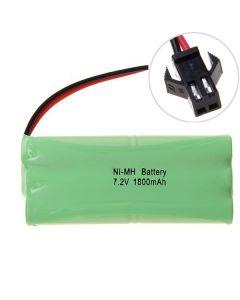 Ni-MH AA 1800mAh 7.2V Big SM Plug Battery Pack