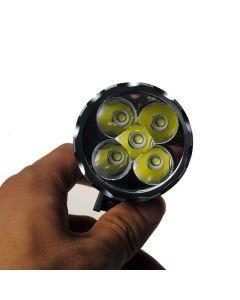5LED Bike Light 5000 Lumens 3 modes LED Bike Headlight Include Battery and Charger.