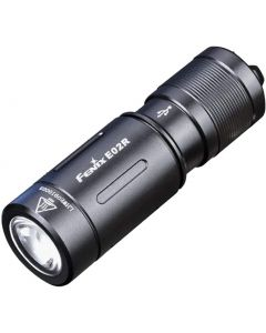 Fenix E02R Cree XP-G2 S3 white LED 200 lumens USB rechargeable keychain flashlight