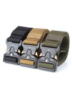 ENNIU Tactical Belts Nylon Belt with Metal Buckle Adjustable Heavy Duty Training Waist Belt Hunting Accessories