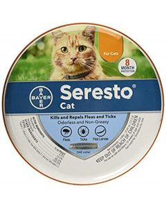 Seresto Flea & Tick Collar for Cats, All Weights & Sizes