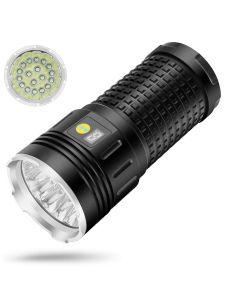 SKY RAY 18xCREE XML T6 4 Modes 15000 Lumen Rechargeable USB Type-C LED Flashlight