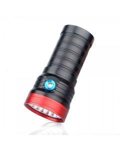 Sky Ray S118 18T6 18xCree XM-L T6  15000-Lumen USB Rechargeable LED Flashlight Torch