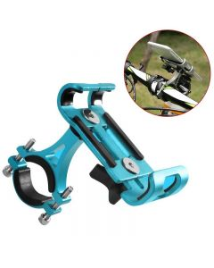 Aluminium Alloy Mobile Phone Holder Stands For Bicycle Motorcycle Metal Mountain Bike Road Bike Phone Holder