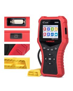 LAUNCH X431 CR3008 OBD2 Scanner Engine Code Reader OBD Car Diagnostics Tool Multilingual Free Update ODB2 Automotive Scanner