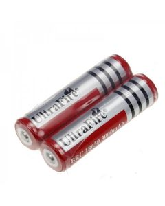 UltraFire BRC 3000mAh 3.7V 18650 Battery With pcb(1 Pair)