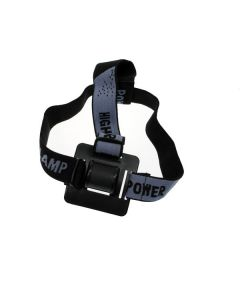 Adjustable Headband For LED Bicycle Front Light As a Headlight