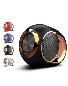 Golden Egg Bluetooth Speaker, Portable High-End Wireless Speaker, 108 DB Stereo Bluetooth Speaker Mini Bluetooth Player, Super Strong Subwoofer Speaker