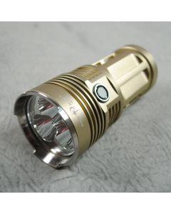 $44.65 SKY RAY King 3*Cree XM-L2 3-Modes 3500-Lumen Desert Yellow color Led Flashlight Torch (4*18650)