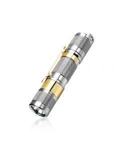 Lumintop TOOL AA2.0 Titanium XP-L HD LED max 650 lumen beam distance 127 Meter AA/14500 EDC Flashlight