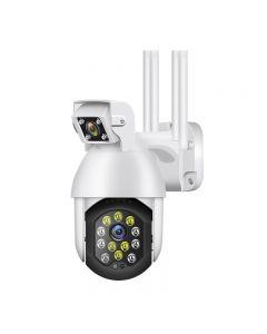1080P WiFi HD smart binocular Camera Night Outdoor Wireless PTZ IP Camera AI Human Action Detection Home Security Camera Surveillance