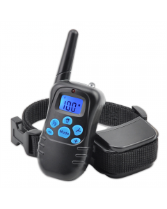 New 998DRB 300M Remote Electric Dog Collar Shock Vibration Rechargeable Rainproof Dog Training Collar With LCD Display