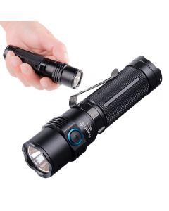 TrustFire MC3 CREE XHP50 2500 Lumens LED Flashlight  USB Magnetic Charging Torch 21700 Rechargeable Light IP68 Waterproof EDC Handheld Lamp Work Lights