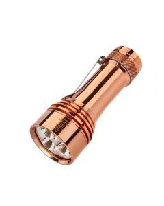 Lumintop FW21 PRO Copper Cree XHP50.2 10,000 lumens LED 21700 battery EDC Flashlight