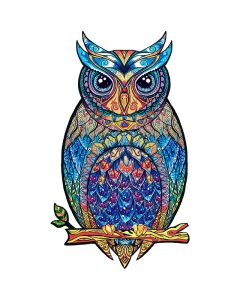 Unique Wooden animal Jigsaw Puzzles Mysterious Owl 3D Puzzle Gift For Best Gift Adults and Kids