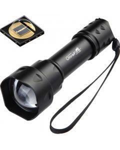 UltraFire T20 10W  Flashlight 850nm 940nm Night Vision Zoomable LED Flashlight