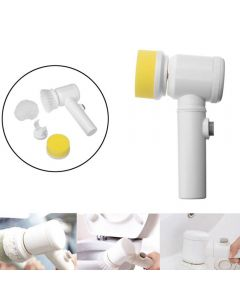 Handheld Electric Cleaning Brush Power Scrubber Brush Cordless Cleaning Brush For Bathroom Tub Kitchen Household Cleaning Tools