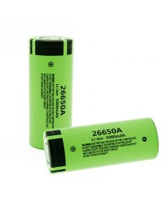 100% Original New 26650A Li-ion Battery 3.7V 5000mA Rechargeable batteries