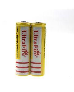 UltraFire BRC 18650 5000mAh Li-ion Rechargeable Battery(1 pair)