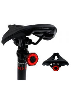 Smart Bicycle Tail Rear Light Auto Start Stop Brake IPX6 Waterproof USB Charge Cycling Tail Taillight Bike LED Lights
