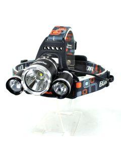 3T6 Headlight 3000 Lumens High Power LED Headlight Boruit 3xCREE XM-L T6 4 Mode Headlamp-Light Unit Only
